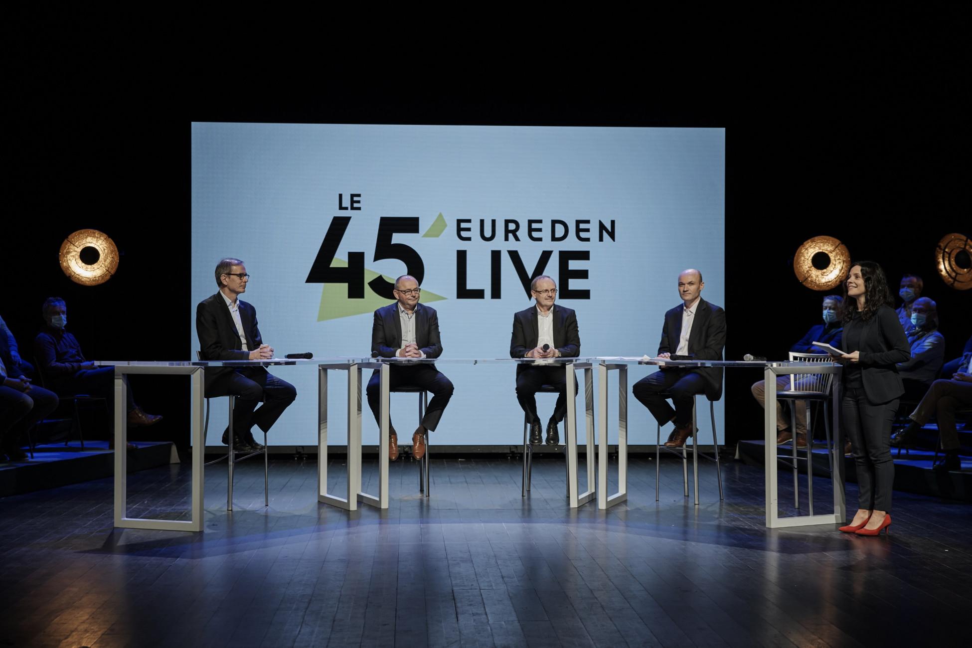 Présentation du projet stratégique lors du 45' Eureden Live