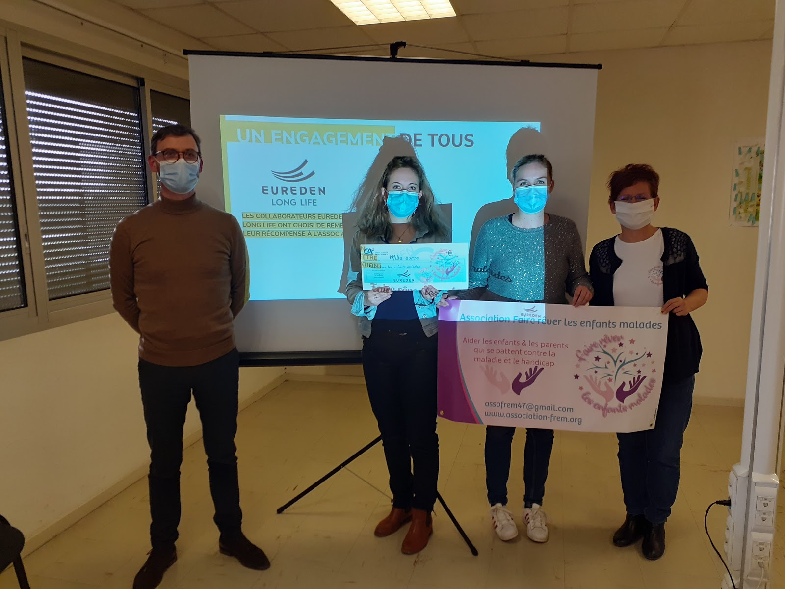 Challenge RSE, Eureden choisit d'aider 2 associations